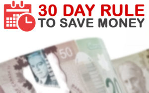 What is the 30 day rule? Master the 30-day rule! Control Impulse Spending with the 30-Day Rule