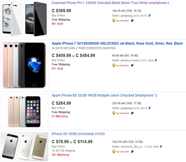 ebay Cell Phones & Accessories
